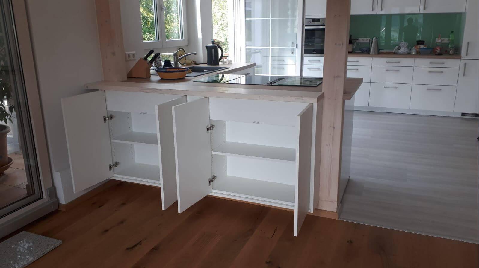 Küchenschränke, Küchenmöbel individuell gefertigt Schreinerei Eßlinger Wolfach Kinzigtal