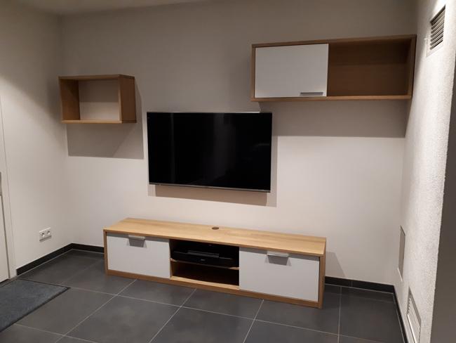 Wohnwand TV Möbel Wohnzimmer